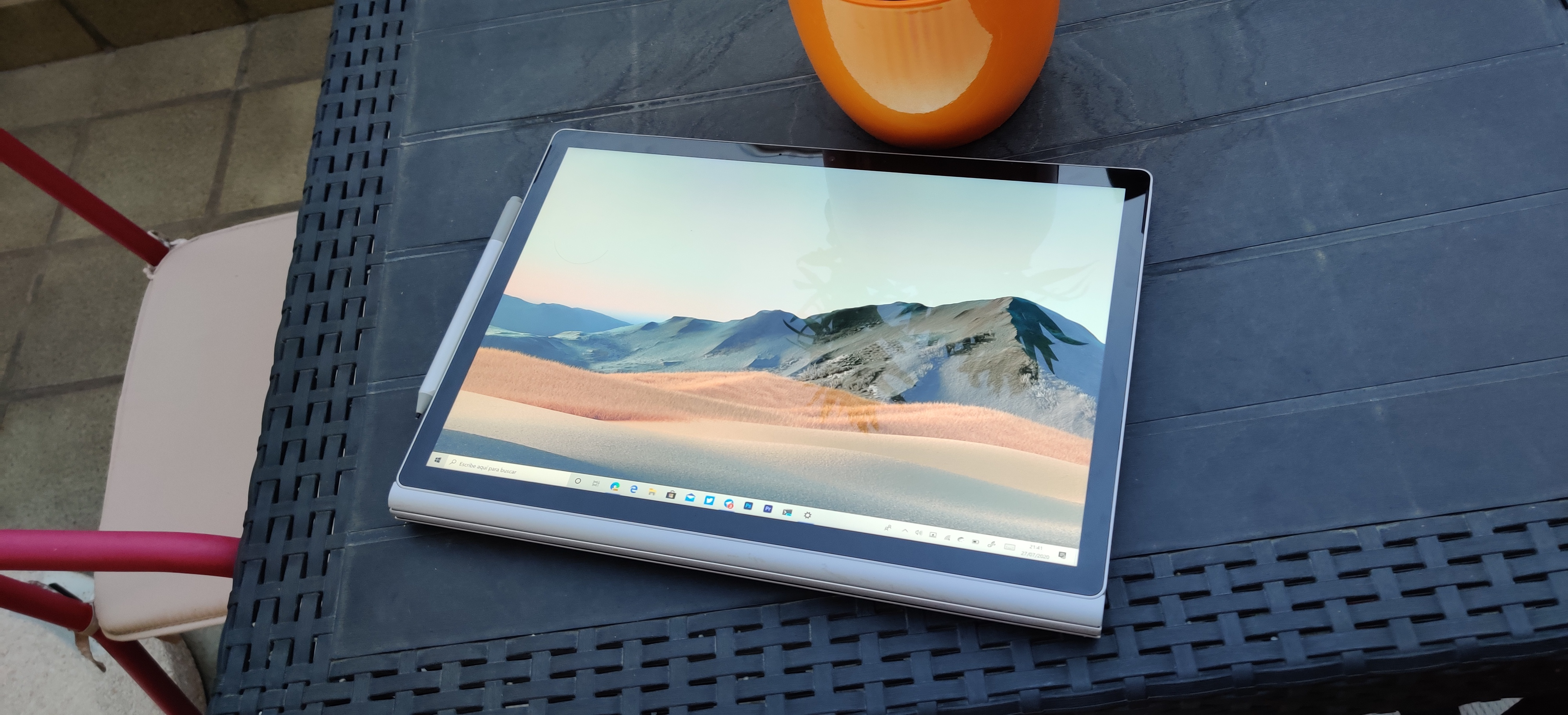 Surface Book 3 modo de uso 3 para dibujar