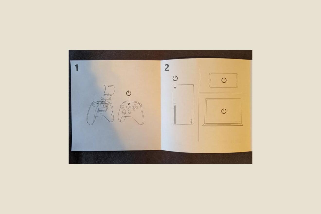 Las instrucciones del mano