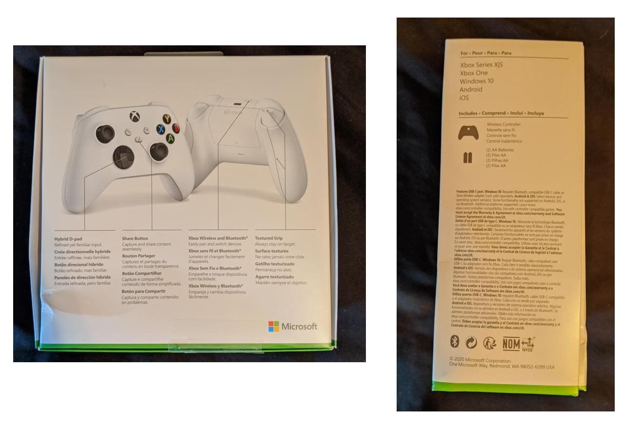 La referencia a Xbox Series S