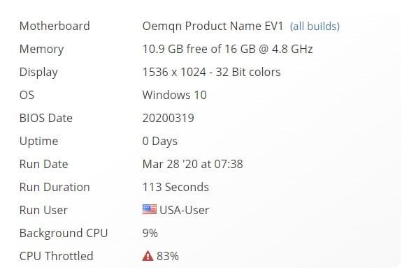 Los datos del nuevo Surface Laptop Go