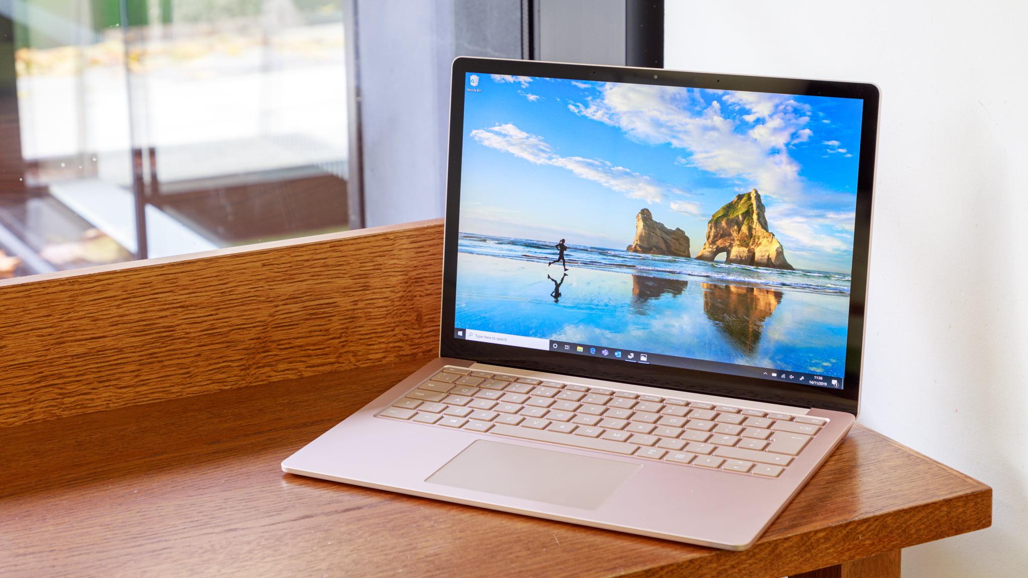 Imagen de la Surface Laptop 3 de Microsoft