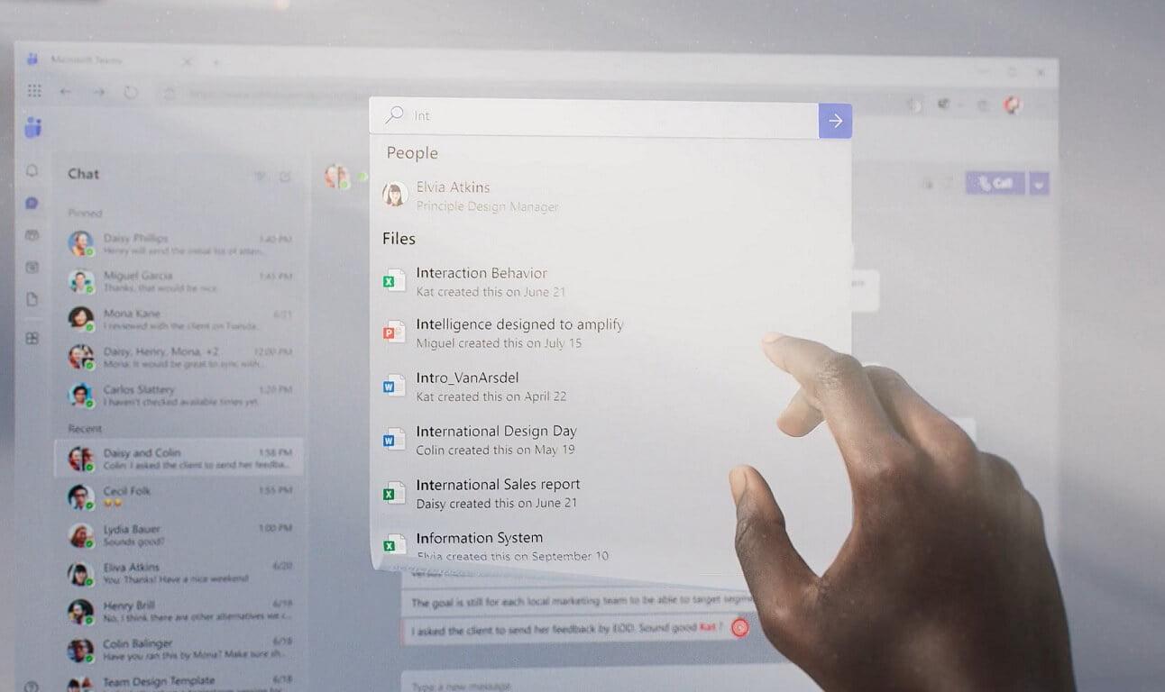 El diseño de Microsoft Teams con Fluent UI