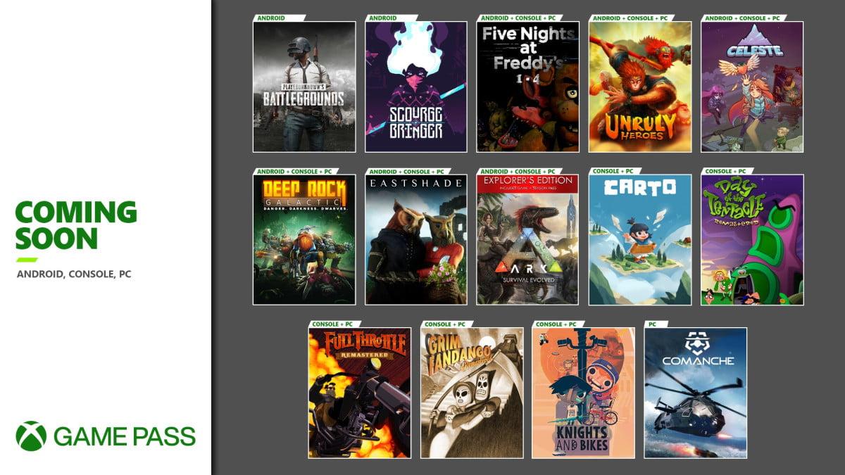 Lo nuevo que llega a Xbox Game Pass