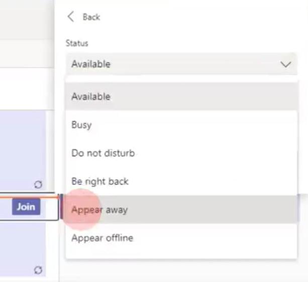 Indicador de presencia online en Microsoft Teams