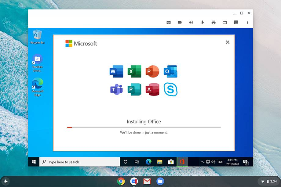 Paralleles Desktop para Chromebook