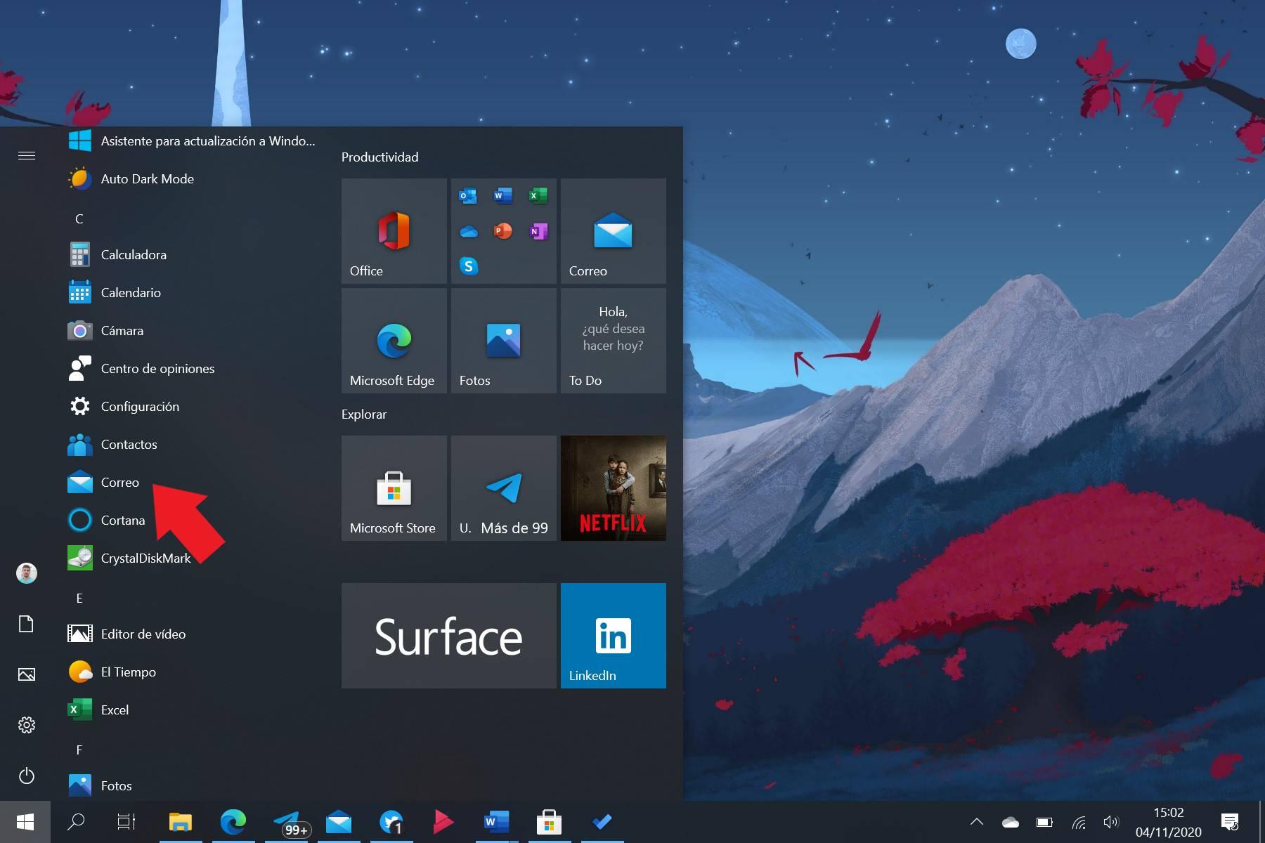 Aplicación de Correo de Windows 10