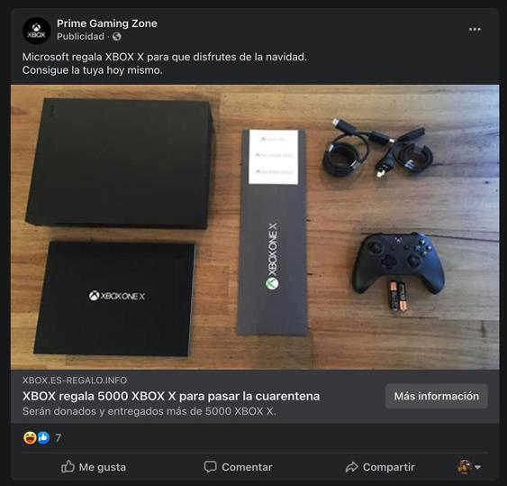Estafa de Xbox Series X