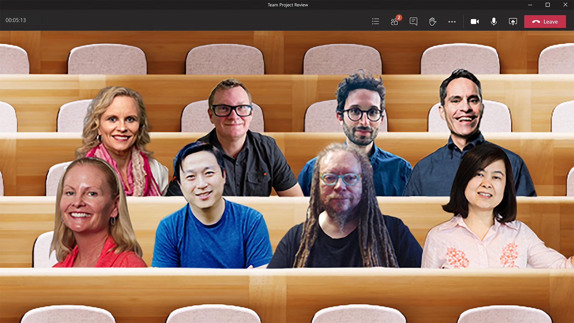 Modo Conjunto de Microsoft Teams