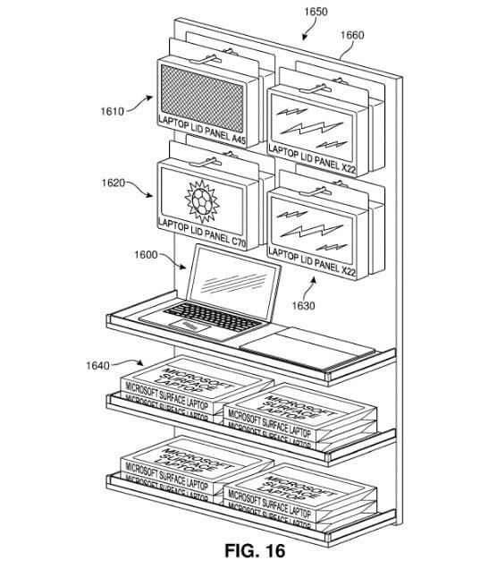 Los módulos de Surface en tiendas