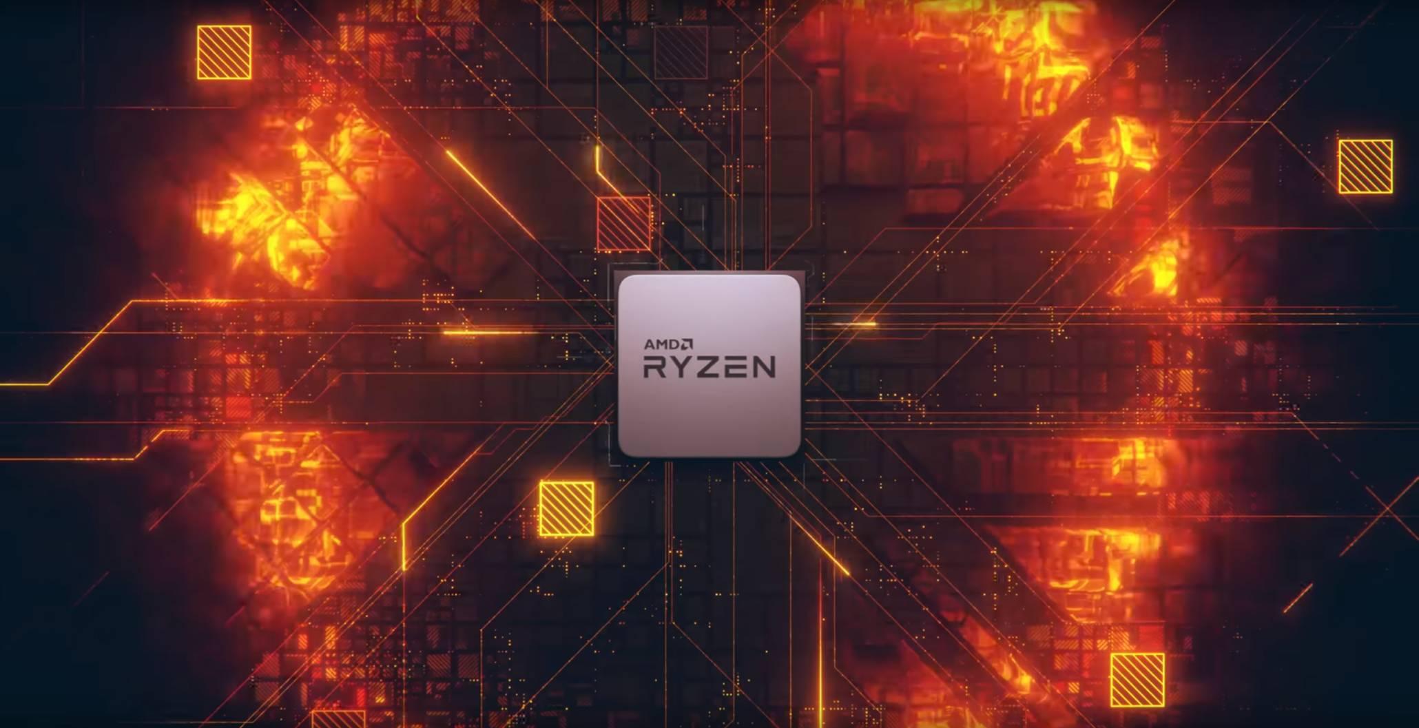 Imagen promocional de AMD Ryzen