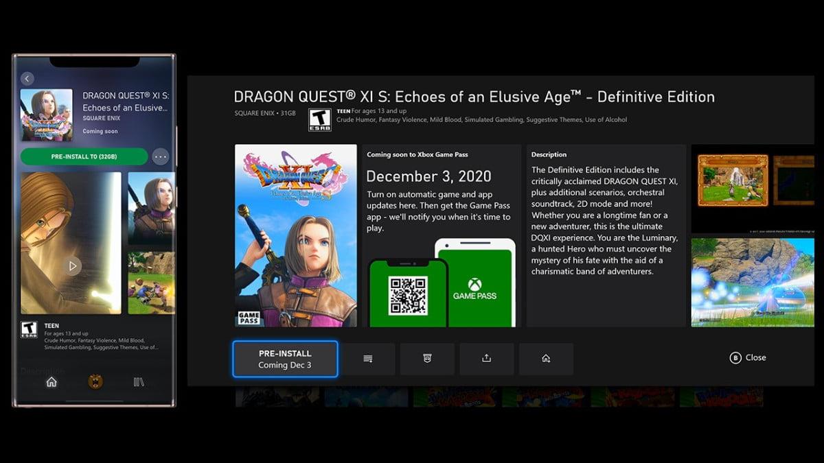 Descarga juegos de GamePass antes