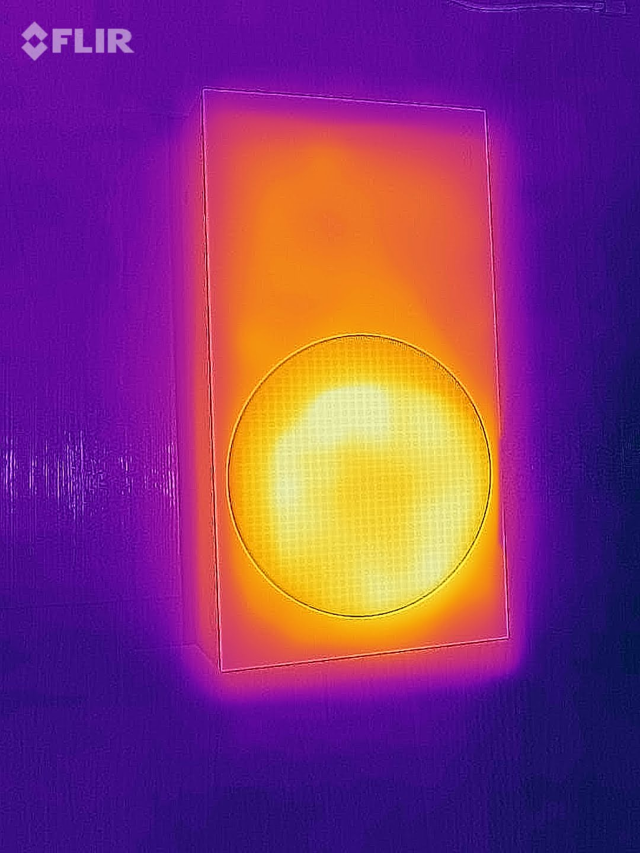 El Flujo de calor en una Xbox Series S