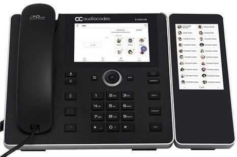 Los teléfonos con Microsoft Teams