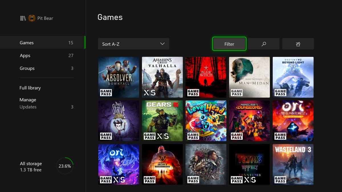Las nuevas marcas para Xbox Series X|S