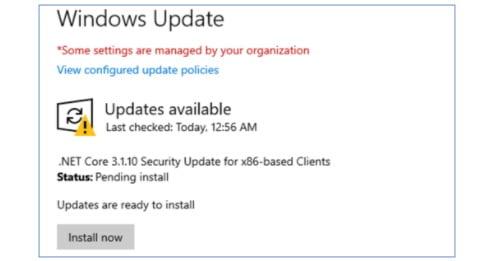 .NET Core en Windows 10