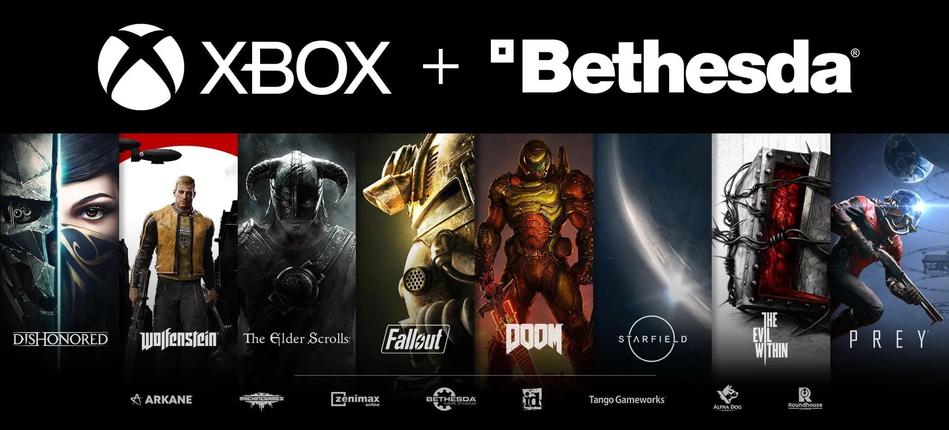 Game Pass incluirá los juegos de Bethesda tras su adquisición