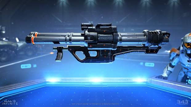 Nuevo diseño de arma en Halo Infinite