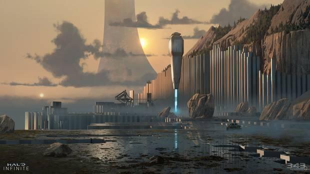 Arte conceptual de Halo Infinite