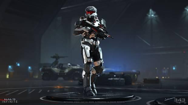 Nuevo diseño de Spartan en Halo Infinite