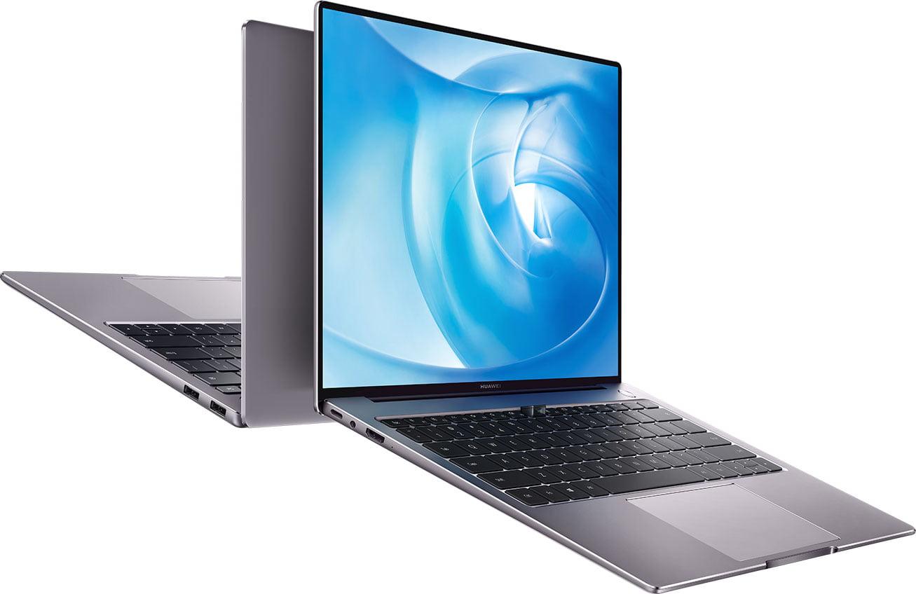 Portátiles Huawei Matebook 14 en imagen promocional