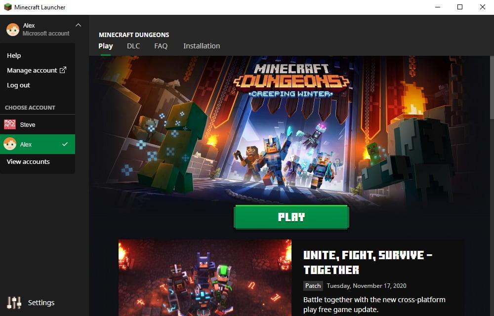 El nuevo Launcher de Minecraft