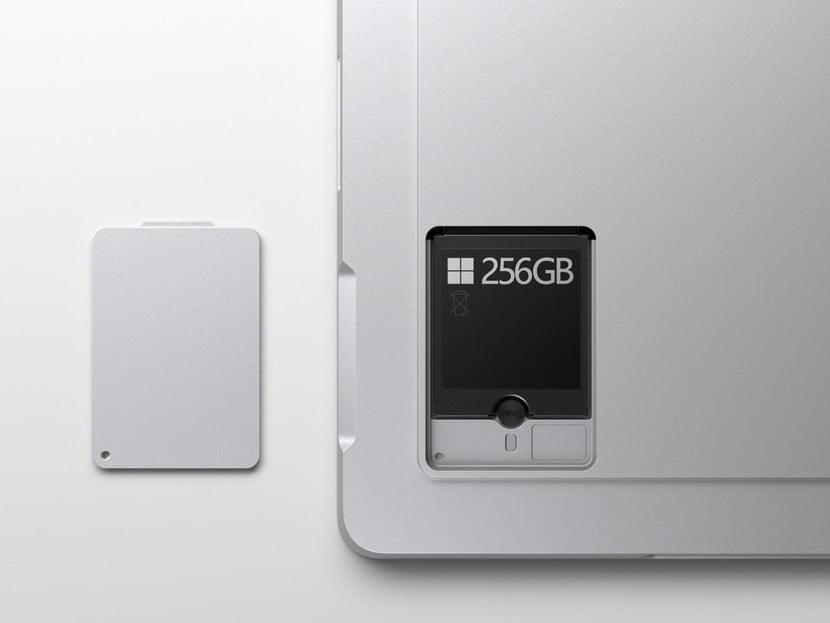 Disco SSD extraible de Surface Pro 7+