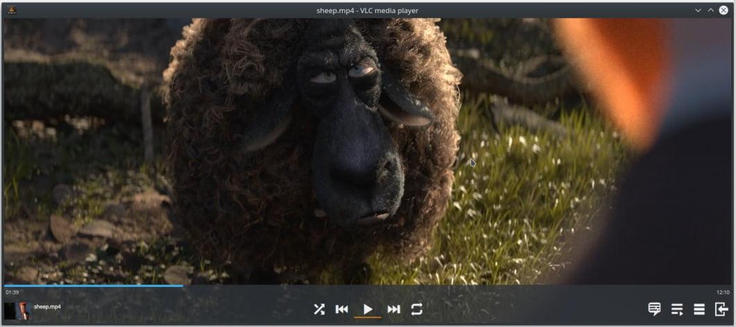 Nueva interfaz de VLC 4.0