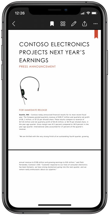Las nuevas opciones de iOS en OneDrive