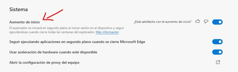 Arranque rápido en Microsoft Edge