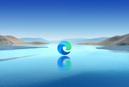 Wallpaper oficial de Microsoft Edge
