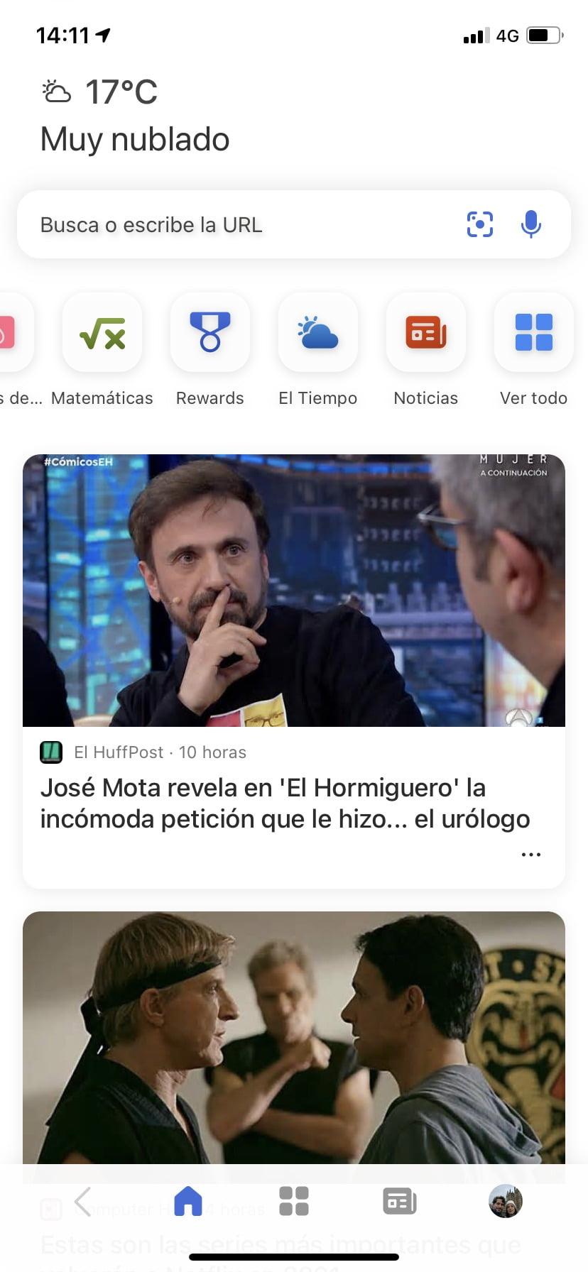 El nuevo diseño de Microsoft News