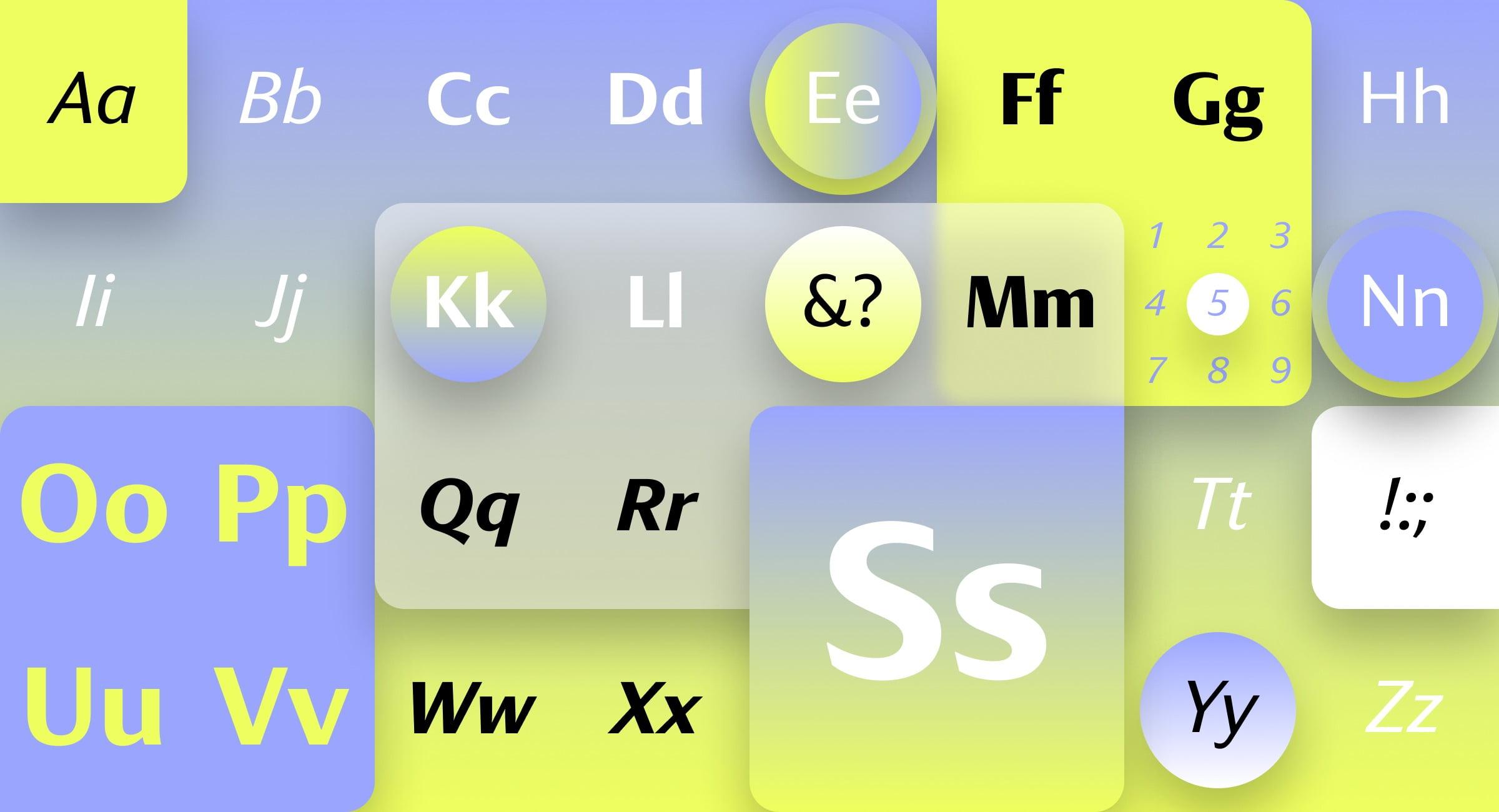 Tipografía Skeena