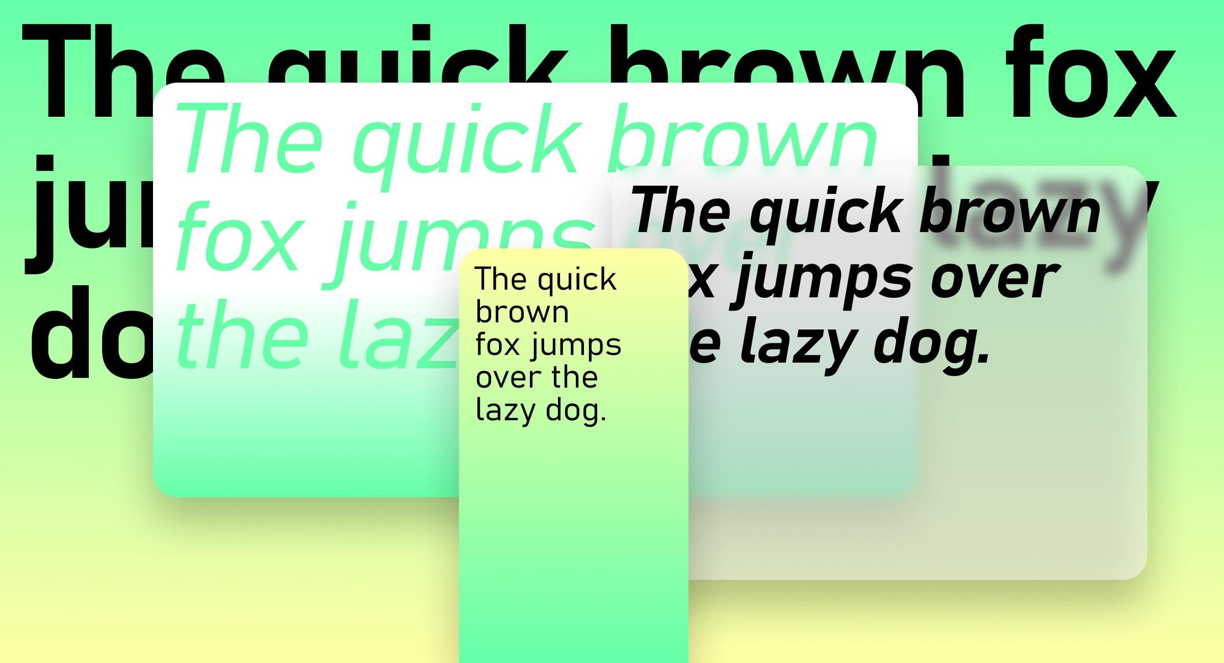 Tipografía Grandview