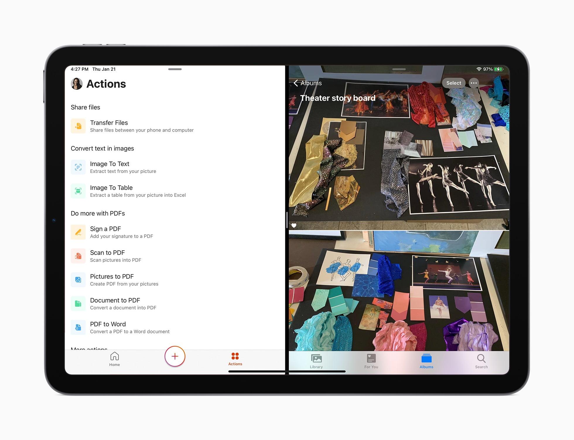 Aplicación de Office para iPad