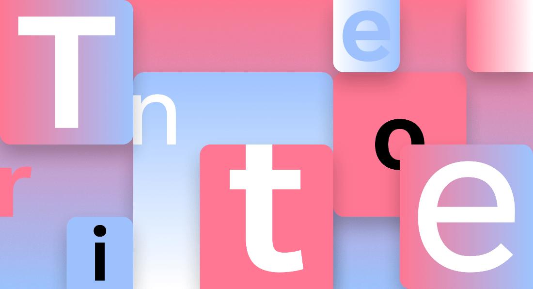 Tipografía Tenorite