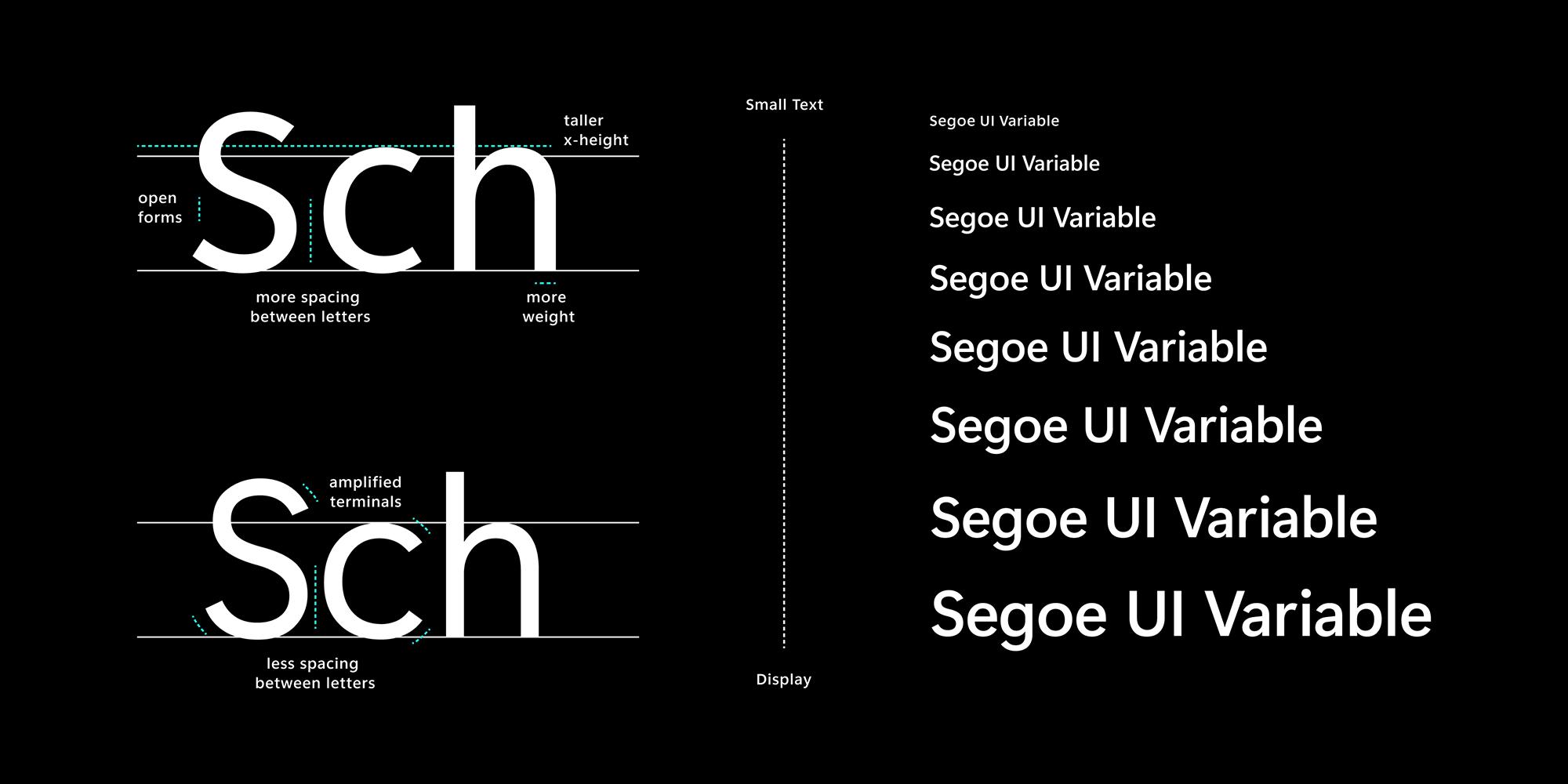 La nueva Segoe UI Variable de Windows 10