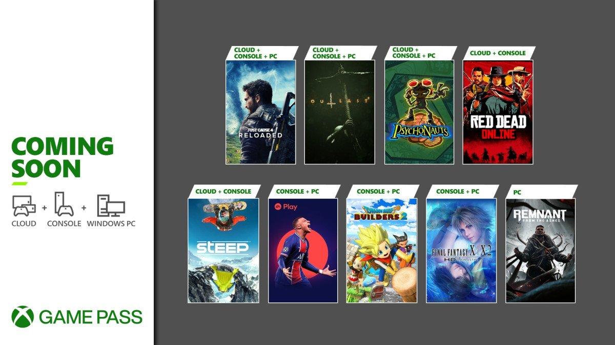Los nuevos títulos de Xbox Game Pass