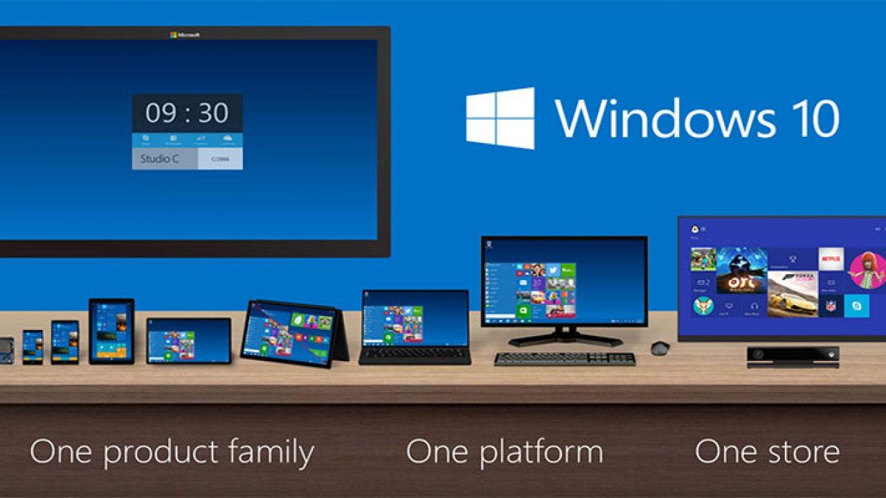 Imagen de la presentación de Windows 10