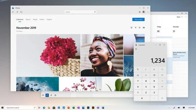 Imagen promocional del equipo de Windows
