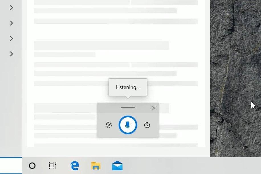 Interfaz de escucha en Windows 11