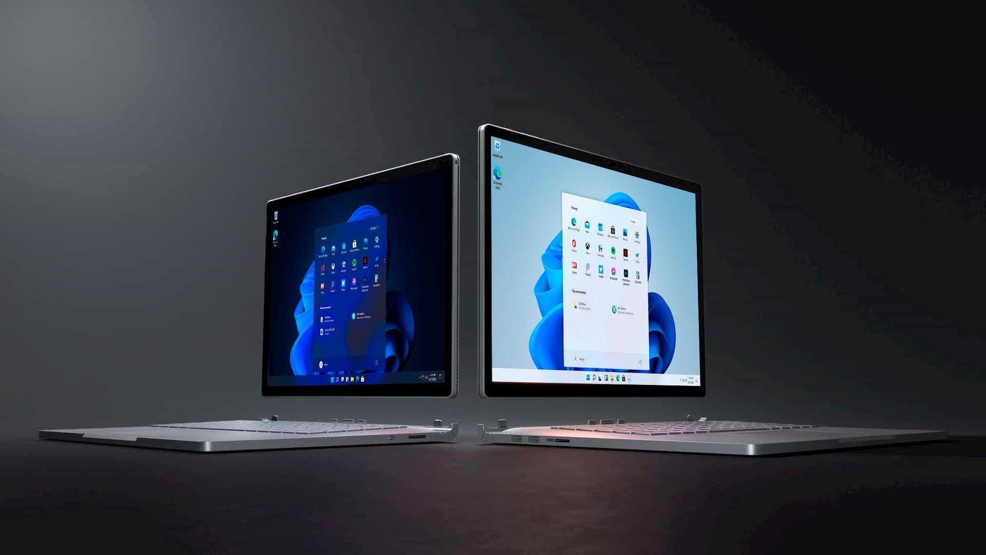 Windows 11 en Surface Book