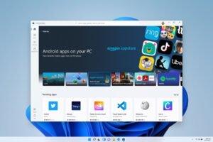 Aplicaciones de Android en Windows 11