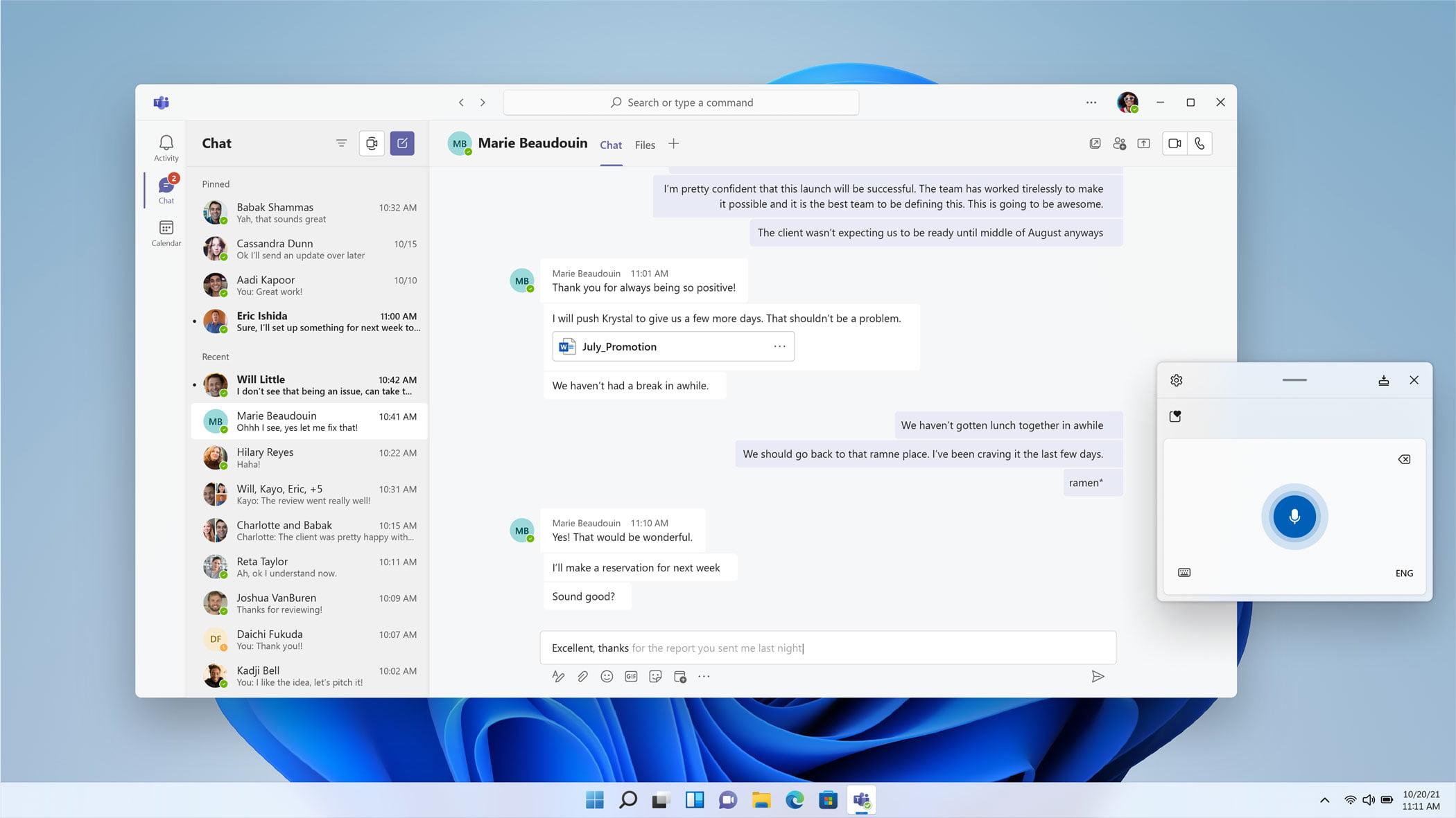 Nueva app de Microsoft Teams