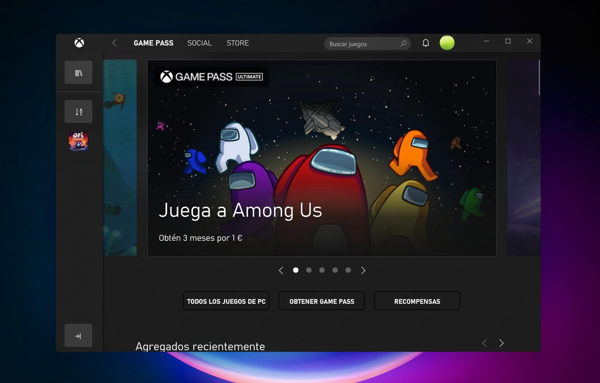 App Xbox su Windows 11