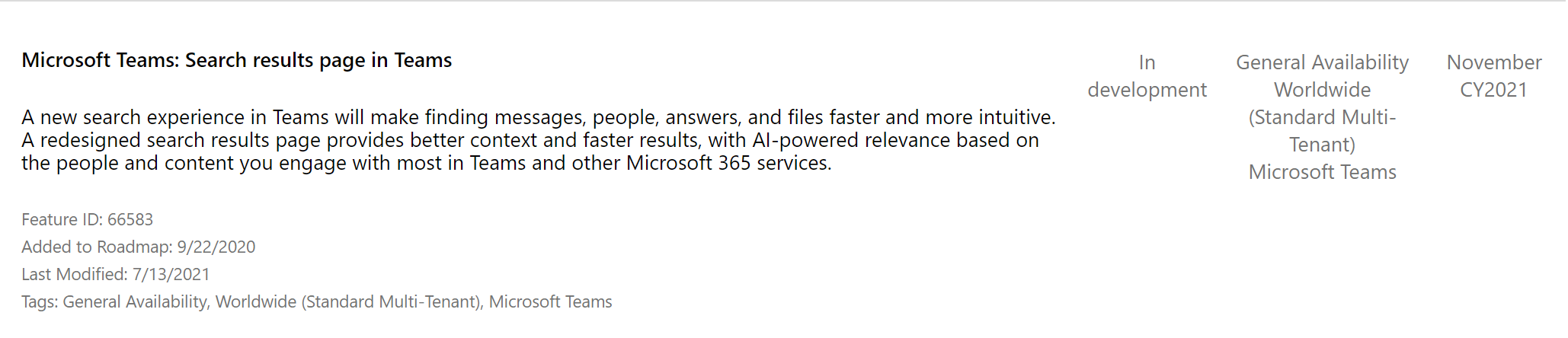 La nueva Búsqueda en Microsoft Teams