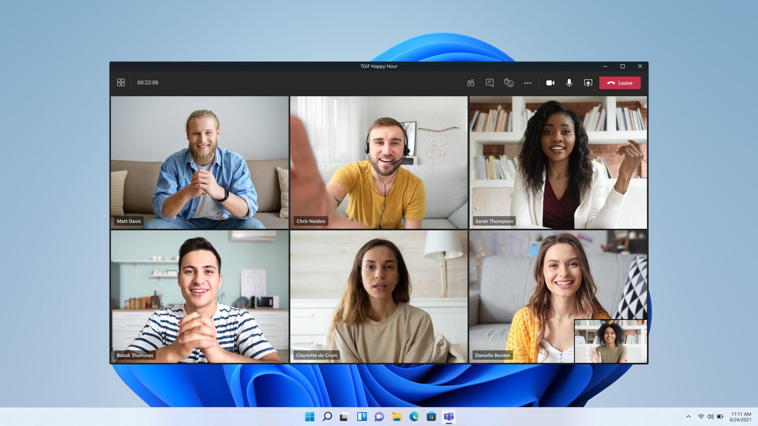 Microsoft Teams en Windows 11