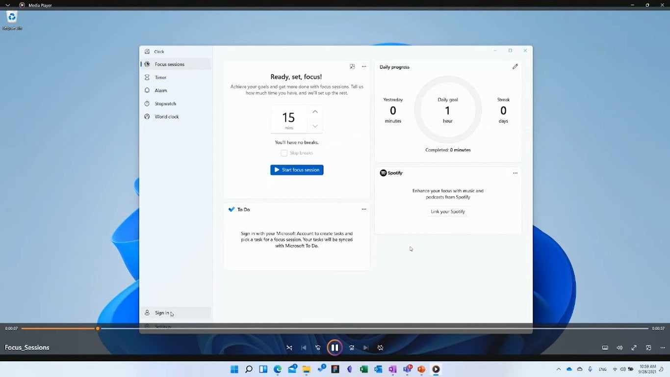 Media Player en Windows 11