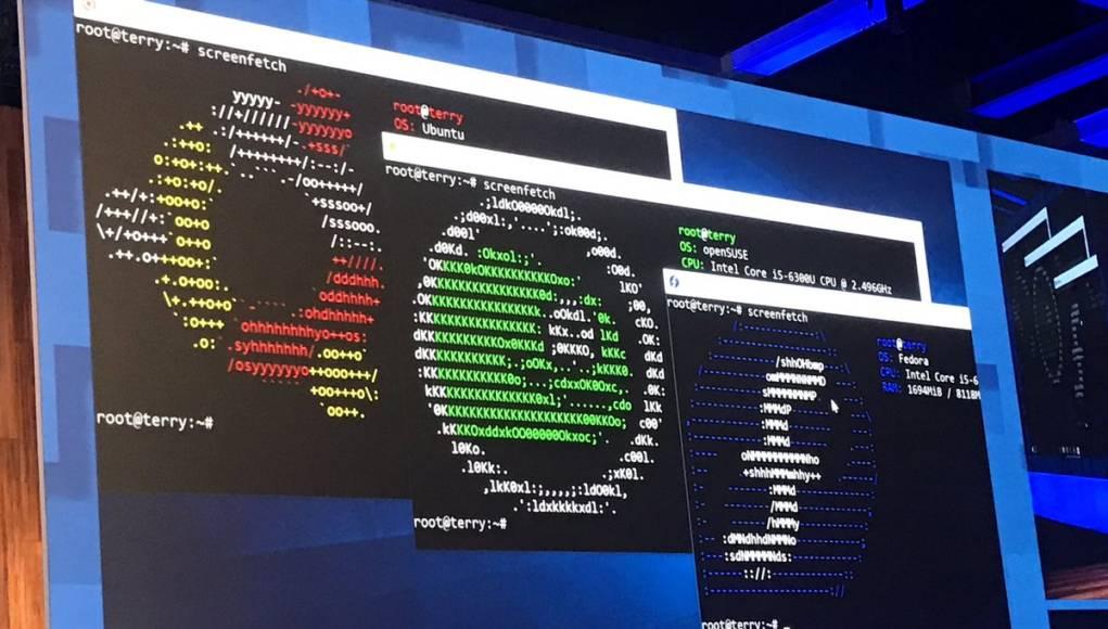 Microsoft presenta el Subsistema Linux para Windows durante un evento
