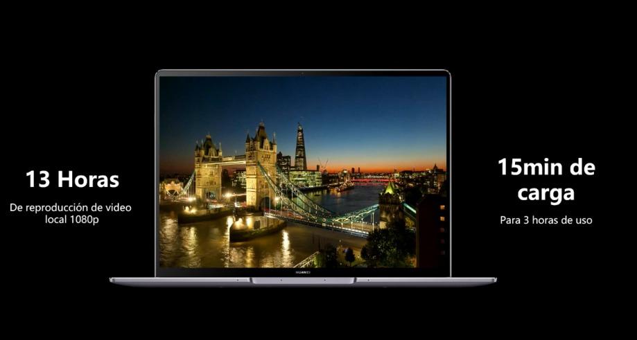 La pantalla en el nuevo Huawei Matebook 13s y 14s